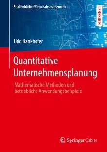 Udo Bankhofer: Quantitative Unternehmensplanung, Buch