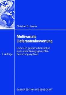 Christian G. Janker: Multivariate Lieferantenbewertung, Buch