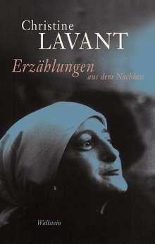 Christine Lavant: Erzählungen aus dem Nachlass, Buch