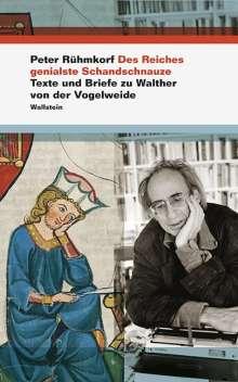 Peter Rühmkorf: Des Reiches genialste Schandschnauze, Buch
