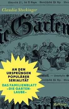 Claudia Stockinger: An den Ursprüngen populärer Serialität, Buch