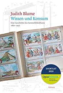 Judith Blume: Wissen und Konsum, Buch