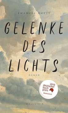 Emanuel Maeß: Gelenke des Lichts, Buch