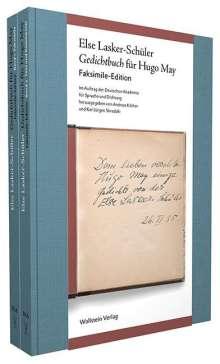 Else Lasker-Schüler: Gedichtbuch für Hugo May, Buch