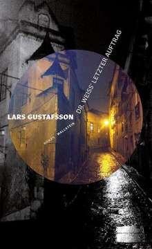 Lars Gustafsson: Dr. Weiss' letzter Auftrag, Buch