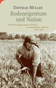 Dietmar Müller: Bodeneigentum und Nation, Buch