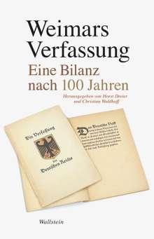 Weimars Verfassung, Buch