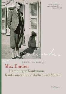 Ulrich Brömmling: Max Emden, Buch