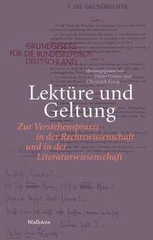 Lektüre und Geltung, Buch