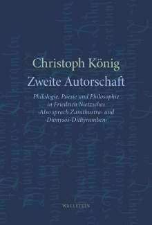 Christoph König: Zweite Autorschaft, Buch