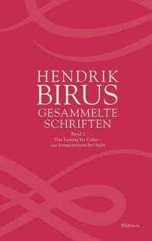Hendrik Birus: Gesammelte Schriften, Buch