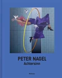 Peter Nagel: Achtersinn, Buch