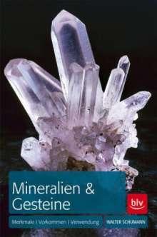 Walter Schumann: Mineralien & Gesteine, Buch