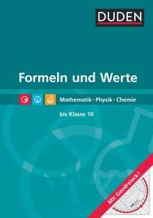Lutz Engelmann: Formeln und Werte  - Formelsammlung bis Klasse 10, Buch