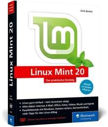 Dirk Becker: Linux Mint 20, Buch