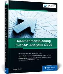Holger Handel: Unternehmensplanung mit SAP Analytics Cloud, Buch