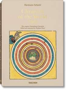 Stephan Füssel: Hartmann Schedel. Weltchronik - 1493. Kolorierte Gesamtausgabe, Buch