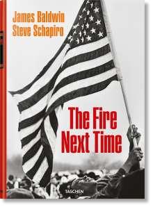 James Baldwin: James Baldwin. Steve Schapiro. The Fire Next Time, Buch