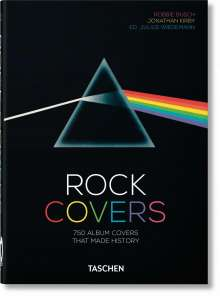 Robbie Busch: Rock Covers. 40th Anniversary Edition, Buch