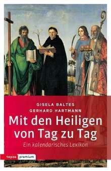 Gisela Baltes: Mit den Heiligen von Tag zu Tag, Buch