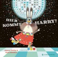 Simon Philip: Hier kommt Harry!, Buch