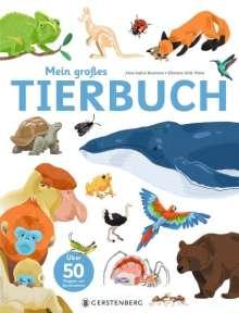 Anne-Sophie Baumann: Mein großes Tierbuch, Buch