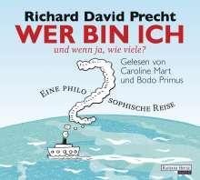 Richard David Precht: Wer bin ich - und wenn ja, wie viele?, 4 CDs