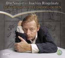Joachim Ringelnatz: Der große Kuttel-Daddel-Duden, 4 CDs