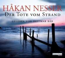 Håkan Nesser: Der Tote vom Strand, 5 CDs