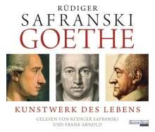 Rüdiger Safranski: Goethe. Kunstwerk des Lebens, 8 CDs