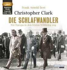 Christopher Clark: Die Schlafwandler, MP3-CD
