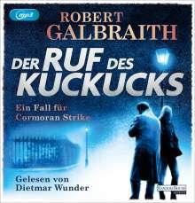 Robert Galbraith: Der Ruf des Kuckucks, CD