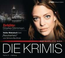 Simone Buchholz: Revolverherz, 4 CDs