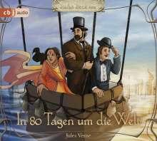 Jules Verne: In 80 Tagen um die Welt, 3 CDs
