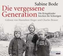 Sabine Bode: Die vergessene Generation, 4 CDs