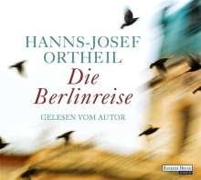 Hanns-Josef Ortheil: Die Berlinreise, 6 CDs