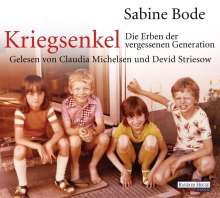 Sabine Bode: Kriegsenkel: Die Erben der vergessenen Generation, 4 CDs