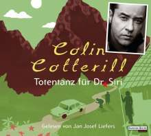 Colin Cotterill: Totentanz für Dr. Siri, 4 CDs
