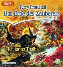 Terry Pratchett: Das Erbe des Zauberers, 2 MP3-CDs