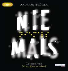 Andreas Pflüger: Niemals, 2 MP3-CDs