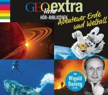 GEOlino extra Hör-Bibliothek - Abenteuer Erde und Weltall, 4 CDs