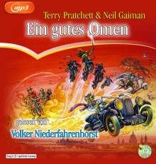 Terry Pratchett: Ein gutes Omen, 2 MP3-CDs