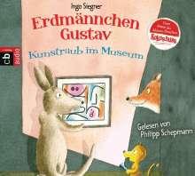 Ingo Siegner: Erdmännchen Gustav - Kunstraub im Museum, CD