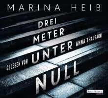 Marina Heib: Drei Meter unter Null, 5 CDs