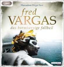 Fred Vargas: Das barmherzige Fallbeil, MP3-CD