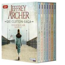 Jeffrey Archer: Die Clifton-Saga, MP3-CD