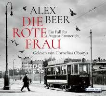 Alex Beer: Die rote Frau, 6 CDs