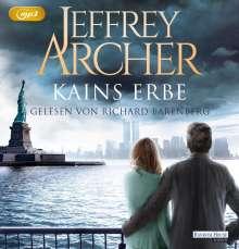 Jeffrey Archer: Kains Erbe, 2 MP3-CDs