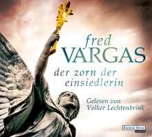 Fred Vargas: Der Zorn der Einsiedlerin, 6 CDs