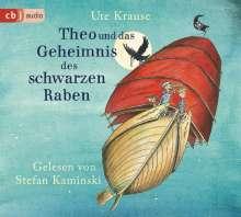Ute Krause: Theo und das Geheimnis des schwarzen Raben, 3 CDs